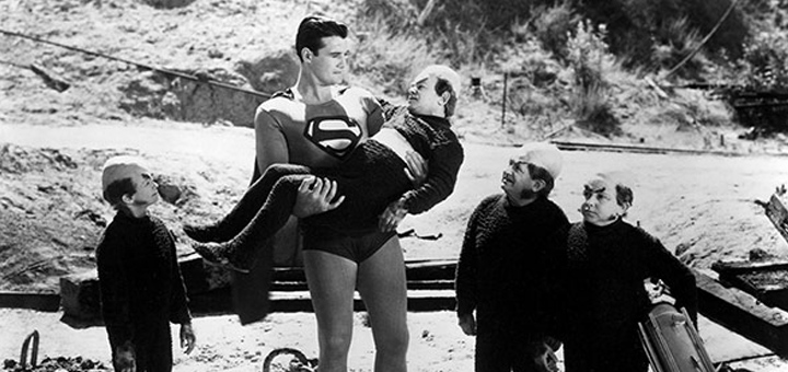 Superman Mole Men George Reeves