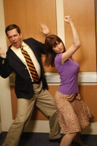 The Office Andy Erin Ellie Kemper Ed Helms