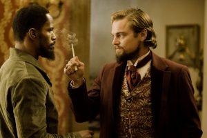 Jamie Foxx Leonardo DiCaprio Django Unchained 2012