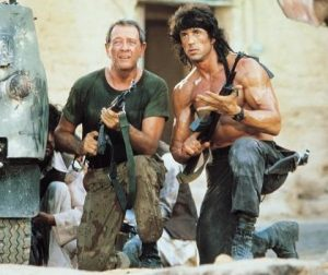 Rambo 3 Sylvester Stallone Richard Crenna