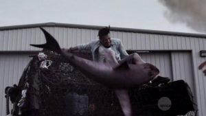 Sharknado Attack Baz Jaason Simmons