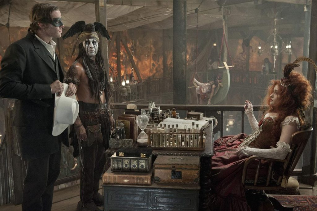 The Lone Ranger Armie Hammer Johnny Depp Helena Bonham Carter