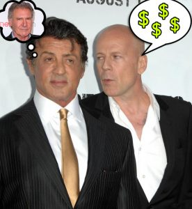 Bruce Willis Sylvester Stallone Expendables 3