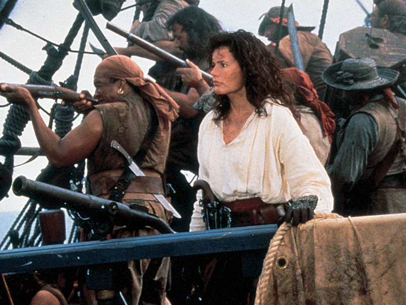 Cutthroat Island movie pirate Geena Davis bomb