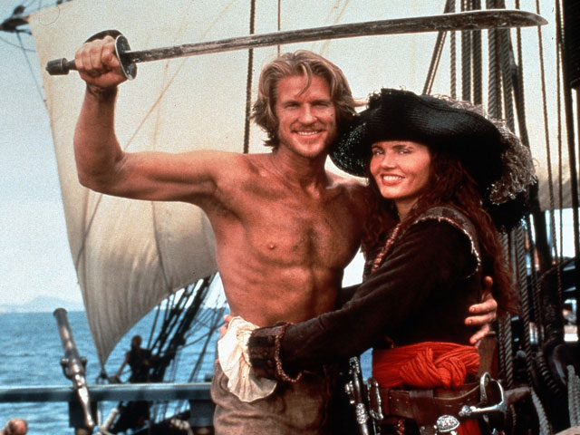 Cutthroat Island 1995 pirate movie Matthew Modine Geena Davis