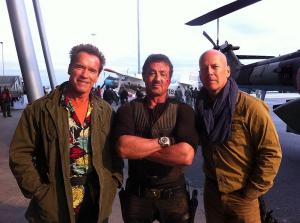 Expendables Stallone Schwarzenegger Willis