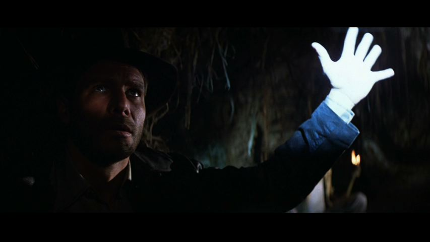 Raiders Lost Ark Blue Light Booby Trap