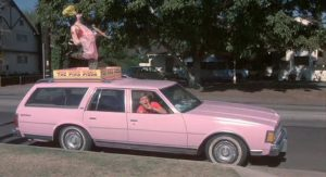The Last American Virgin Pink Pizza Station Wagon