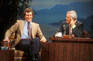 Johnny Carson David Letterman