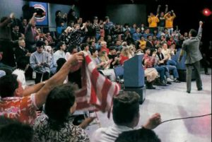 Morton Downey Jr Show Audience