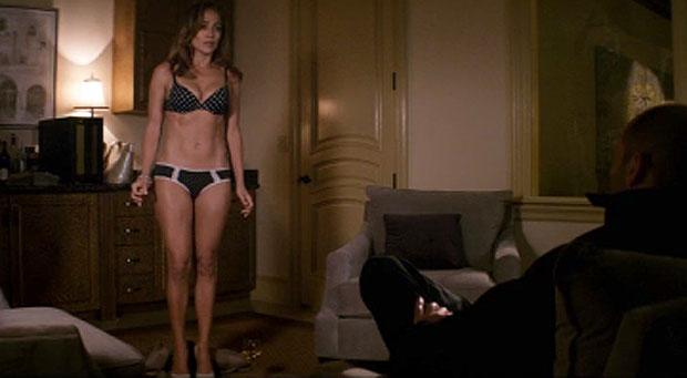 Parker 2013 Jennifer Lopez strips underwear