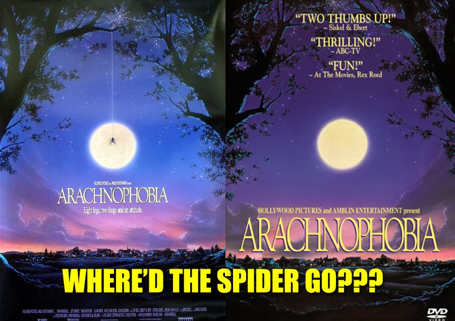 Missing Spider Arachnophobia 1990 movie Poster