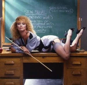 Sybil Danning hot sexy teacher Theyre Playing With Fire 1984 movie