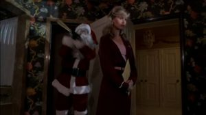 They're Playing With Fire movie Santa Claus murder by bat