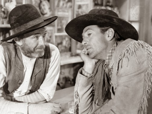 Walter Brennan Gary Cooper The Westerner 1940