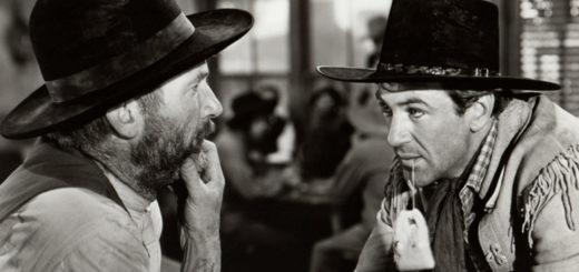 Westerner Gary Cooper Walter Brennan