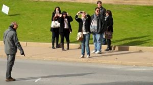 Dealey Plaza JFK assassination tourists