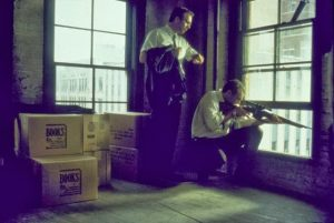 JFK 1991 movie Kevin Costner Dealey Plaza Jay O Sander Oliver Stone