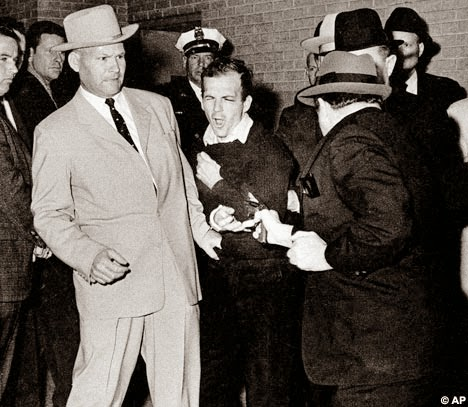 Lee Harvey Oswald Jack Ruby death shot live tv