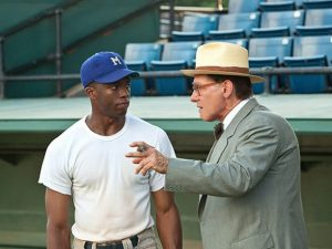 42 movie Chadwick Boseman Harrison Ford