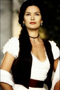 Catherine Zeta Jones beautiful Mask of Zorro 1998