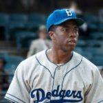42 Chadwick Boseman as Jackie Robinson movie