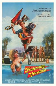 Fraternity Vacation 1985 movie Poster