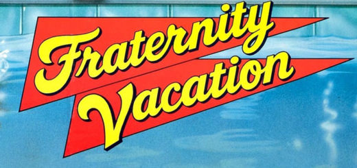 Fraternity Vacation 1985 poster logo