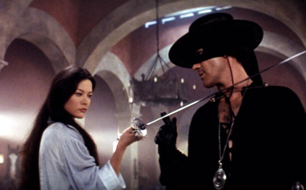 Mask of Zorro 1998 Antonio Banderas Catherine Zeta Jones
