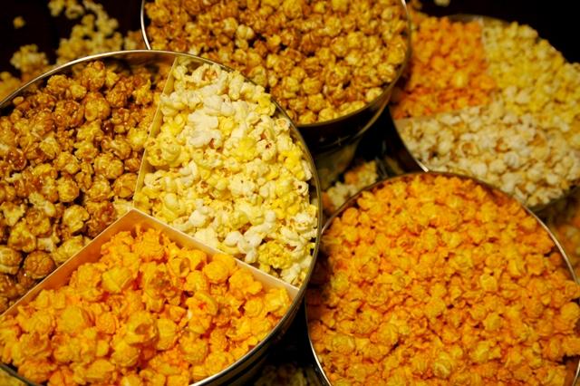 Popcorn tins empty problem ideas