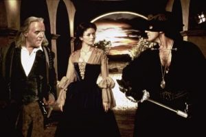 The Mask of Zorro Anthony Hopkins Catherine Zeta Jones Antonio Banderas