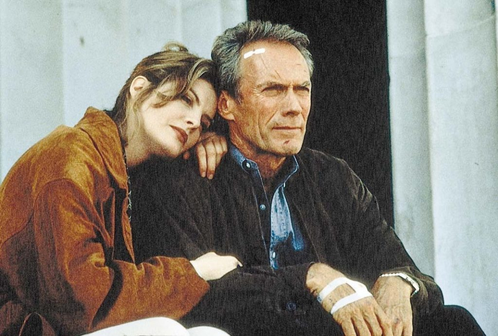 Rene Russo Clint Eastwood In Line of Fire 1993