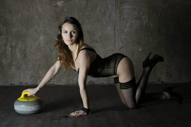 Anna Sidorova sexy Russian curling skip