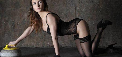 Anna Sidorova sexy athlete Curling