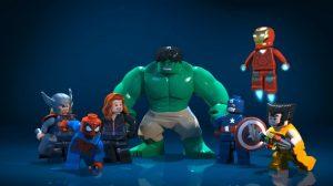 Avengers Lego Minfigures