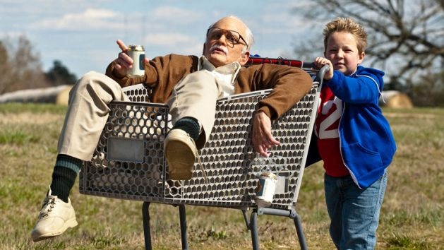 Bad Grandpa Johnny Knoxville 2013 comedy