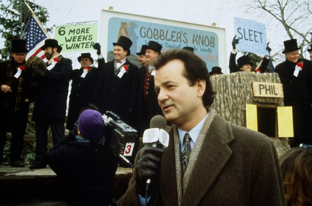 Bill Murray Groundhog Day directed by Harold Ramis