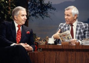 Johnny Carson Ed McMahon The Tonight Show NBC
