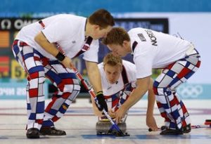 Norway Curling Team pants