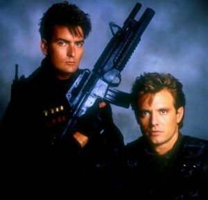 Charlie Sheen Michael Biehn Navy Seals