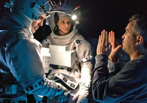 Gravity Alfonso Cuaron Sandra Bullock George Clooney