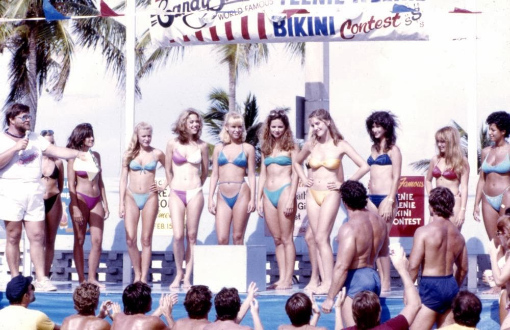 Spring Break movie 1983 bikini contest