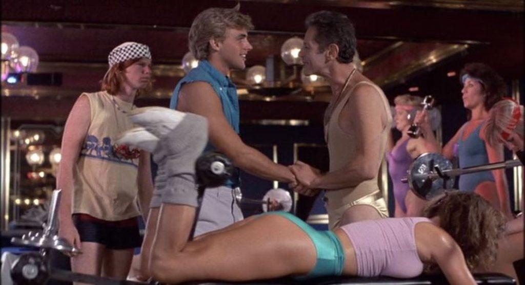 Hardbodies 1984 sex comedy butt exercise girl