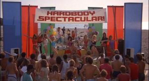 Hardbodies movie Spectacular Beach Party scene