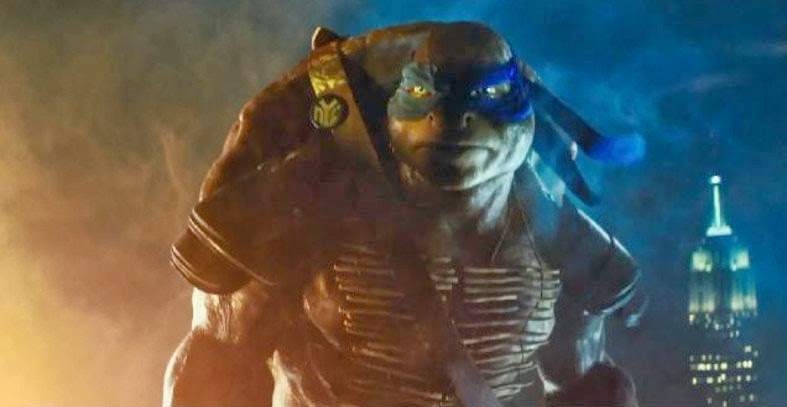 New Teenage Mutant Turtles Leonardo CGI