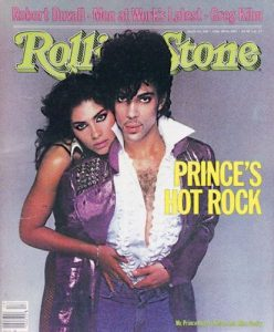 Prince Vanity Rolling Stone magazine cover