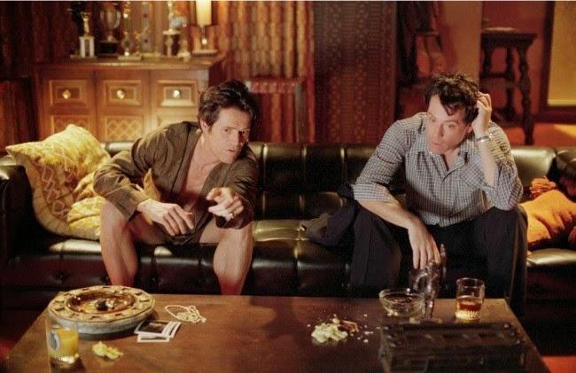Willem Dafoe as John Carpenter and Greg Kinnear as Bob Crane in Auto Focus 2002