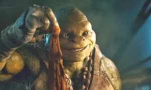 new Teenage Mutant Ninja Turtles movie Michelangelo