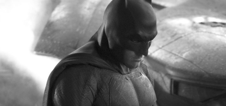 Ben Affleck as Batman first picture