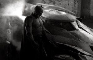 Ben Affleck as Batman costume Zack Snyder